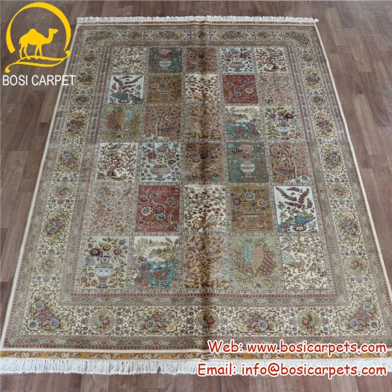 Four season silk carpet